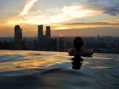 Tagesende in Singapur