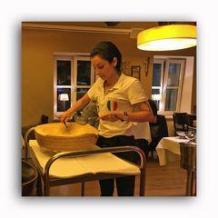 tagliatelle al pagnotta di parmigiano