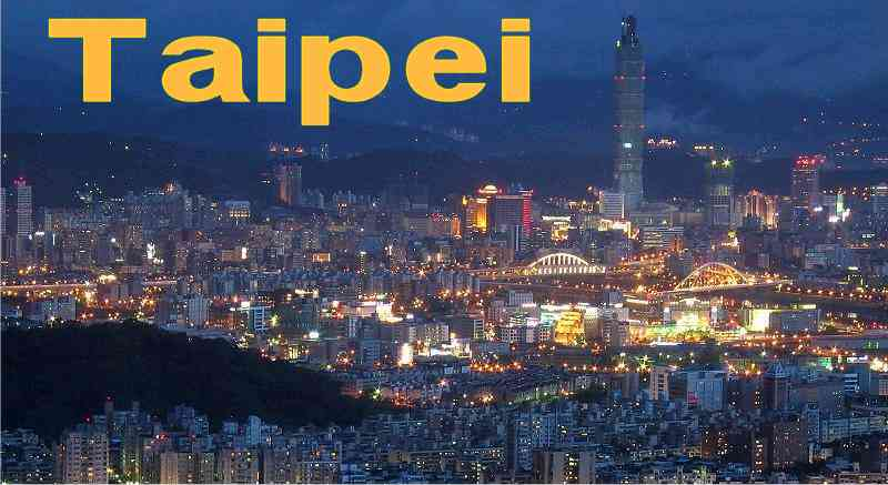 Taipei and the tallest Bilding in the world