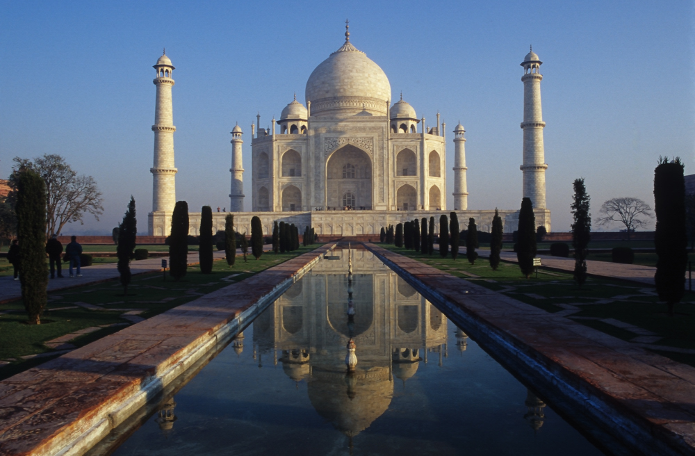 Taj Mahal am Abend