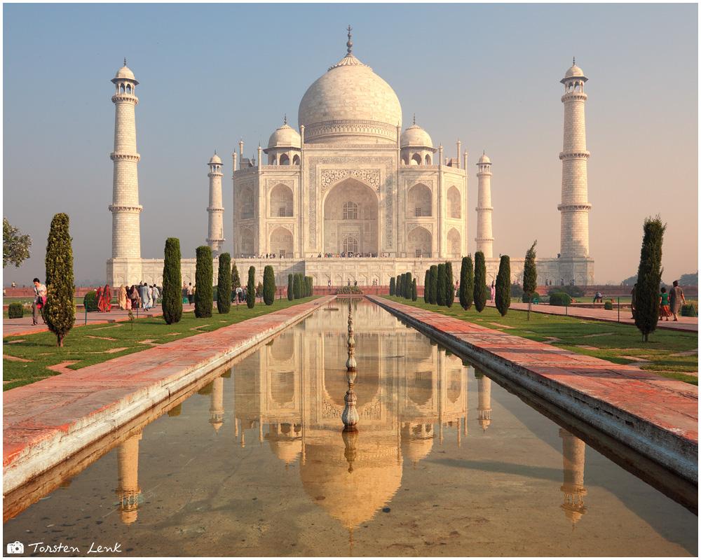 Taj Mahal - jeder fotografiert es, ....