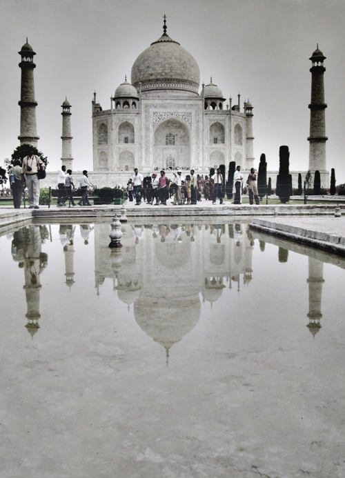 Taj Mahal reflection