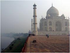 Taj Mahal - Seitenansicht