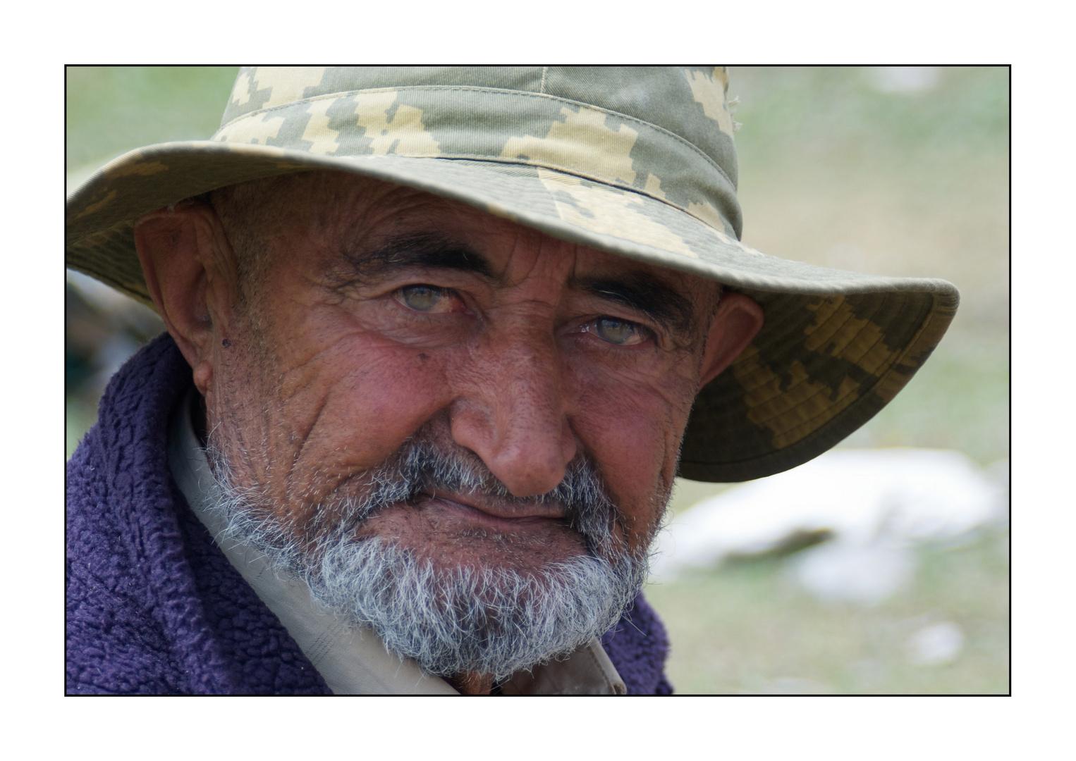 Tajikischer Bergbauer