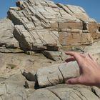 Take the rock in french britanny