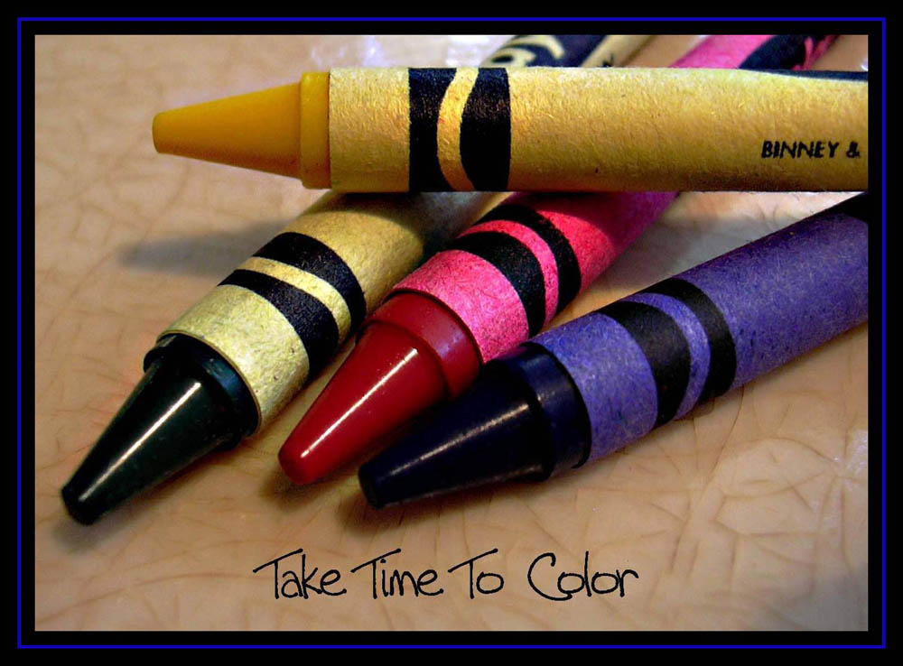 Take Time To Color