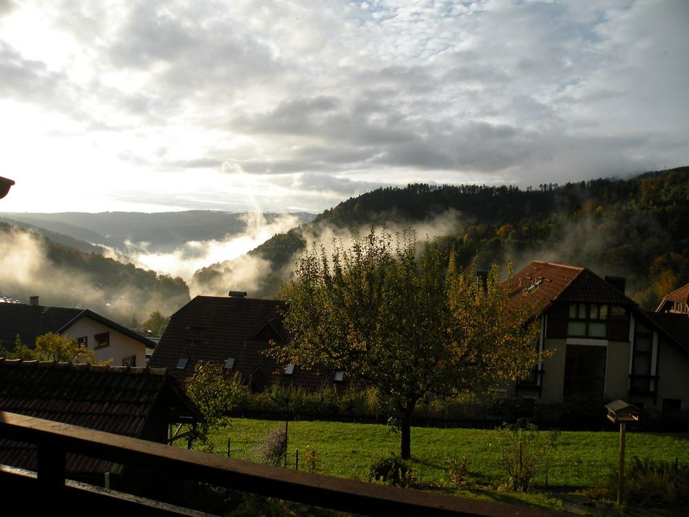 Taken in Bernbach overlooking Bad Herrenalb and Dobel