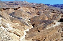 Tal der Könige - vom Fuße des el-Qurn aufgenommen