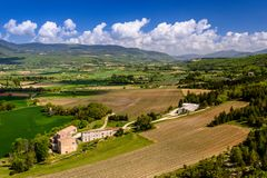 Tal der Nesque, Vaucluse, Provence, Frankreich