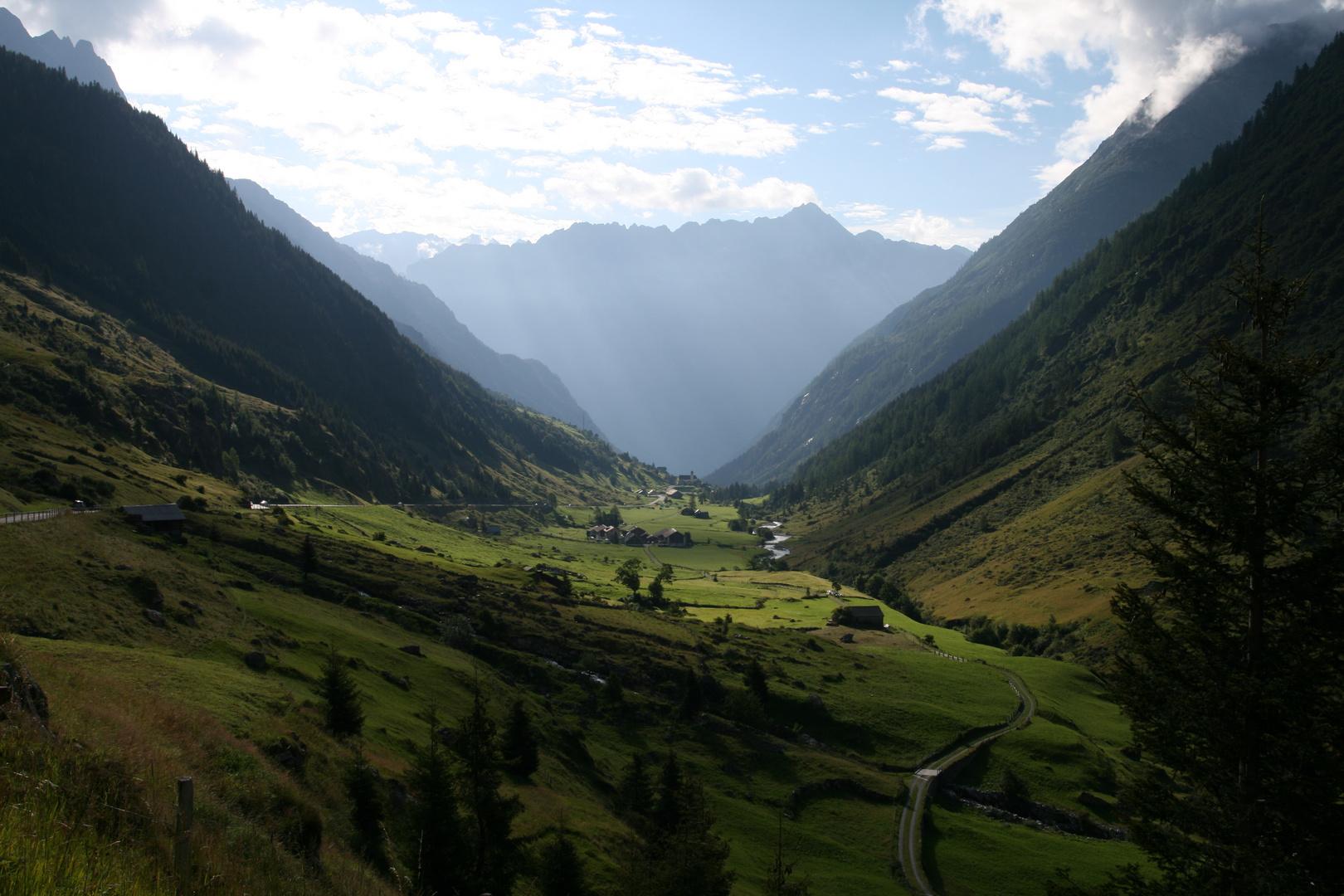Tal in der Schweiz