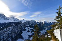 Tal von Grindelwald Richtung Interlaken