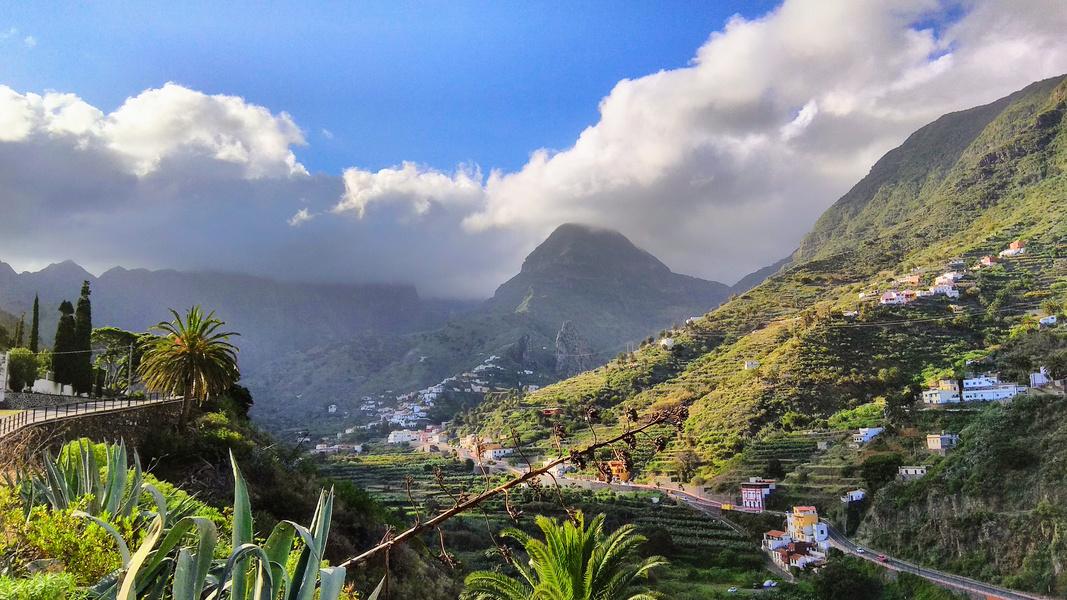 Tal von Hermigua - La Gomera