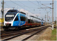 TALENT-1 im S-Bahn OÖ Design nach Garsten