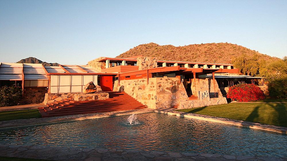 Frank Lloyd Wright Architektur : taliesin west von frank lloyd wright foto bild architektur hidden motive bilder auf ~ Orissabook.com Haus und Dekorationen