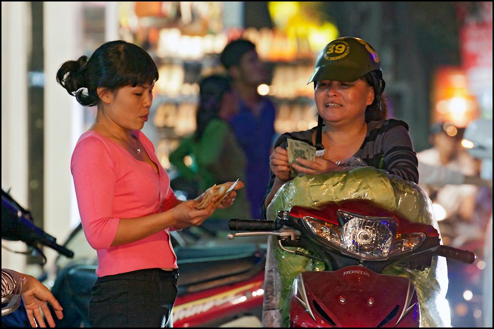 talking about money...Hanoi City
