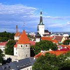 Tallinn (Estonia) View from Toompea