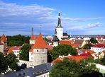 Tallinn (Estonia) View from Toompea