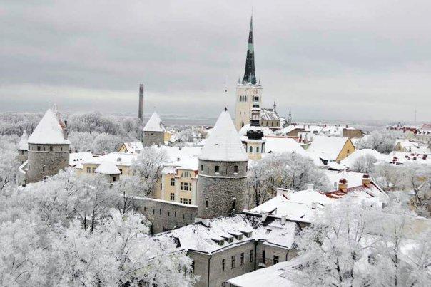 Tallinn im Winter