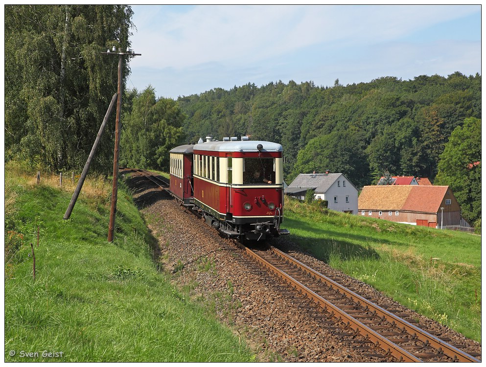 Talwärts in Jonsdorf