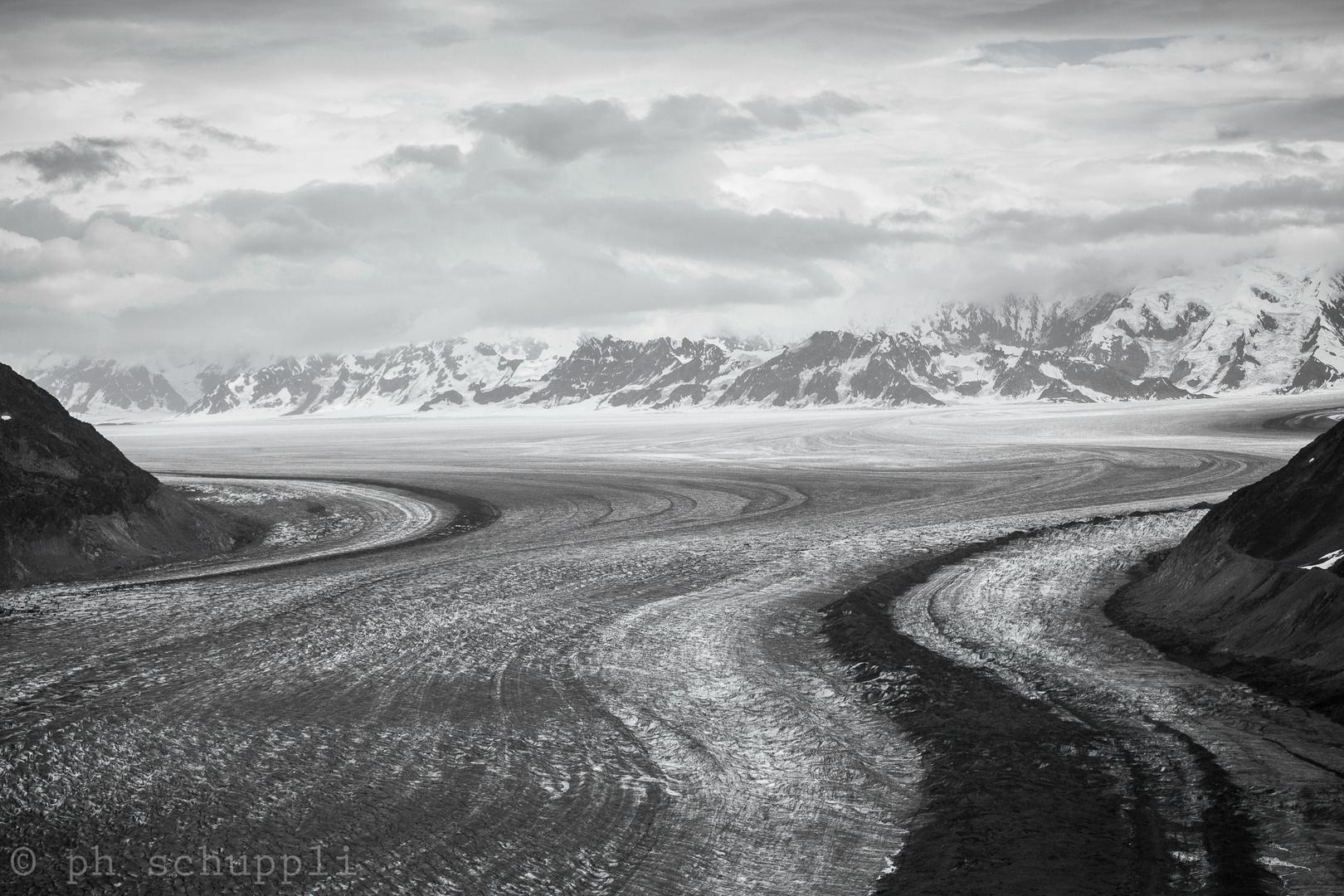 Tana Glacier -- Alaska