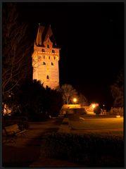 ...Tangermünde bei Nacht...