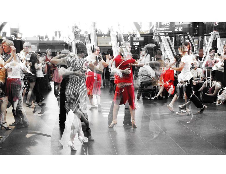 Tango Festival 2016 im Hauptbahnhof Berlin