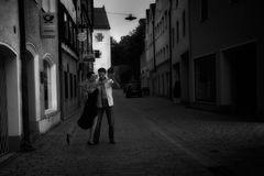 Tango um Mitterenacht in der Stadt