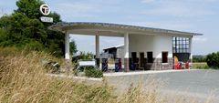 Tankstelle 50 er Jahre