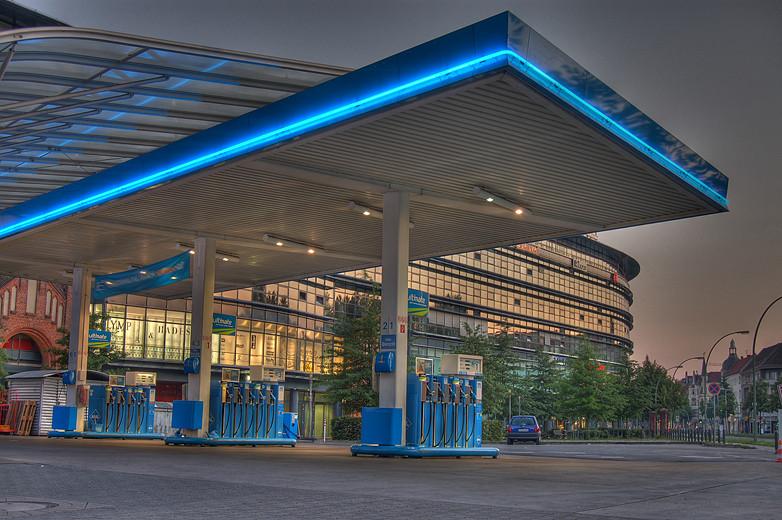 Tankstelle Berlin/Tegel