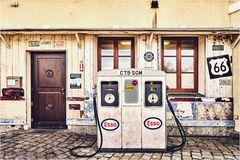 Tankstelle in Bad Tölz