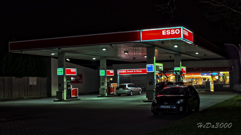 Tankstelle in Kevelaer