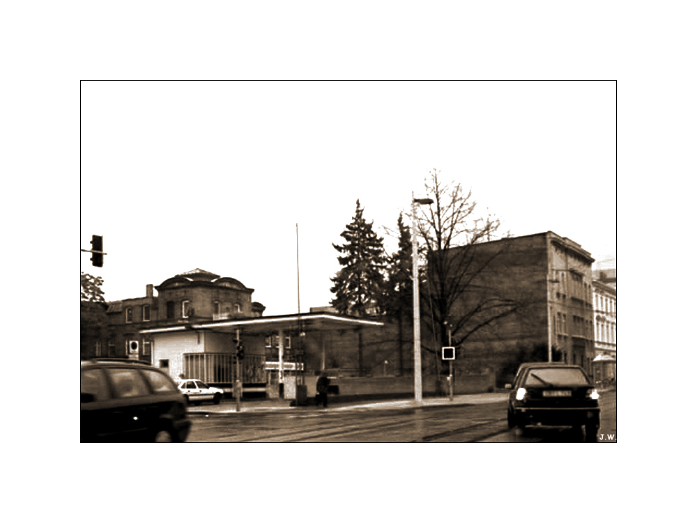 Tankstelle rustikal