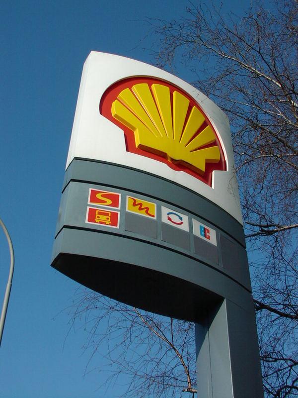Tankstellenschild