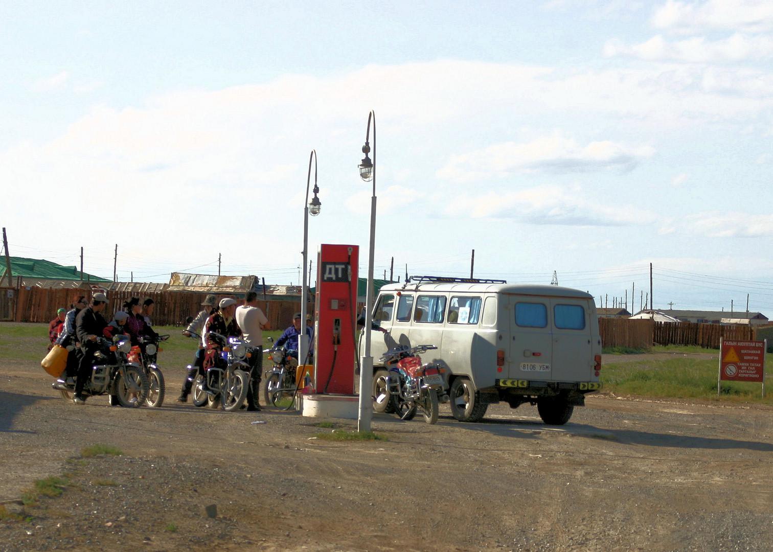 Tankstopp