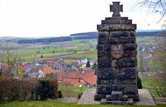 Tannenkirch --- Blick vom Denkmal