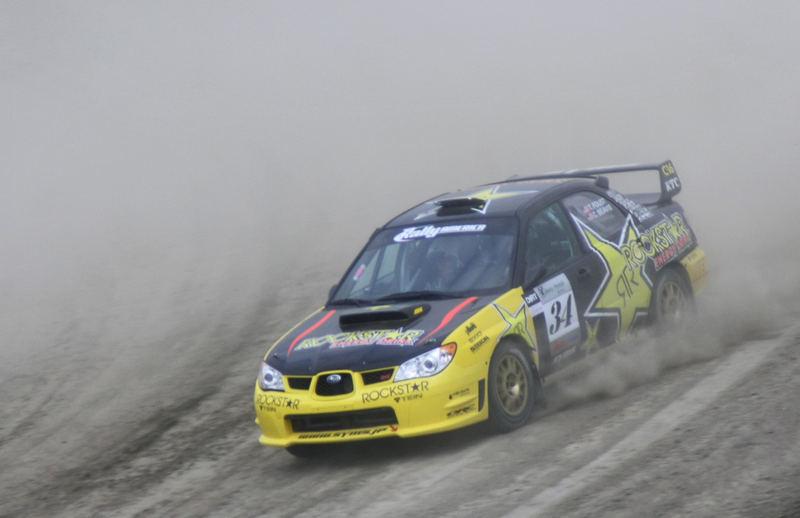 Tanner Foust's Rally America Car