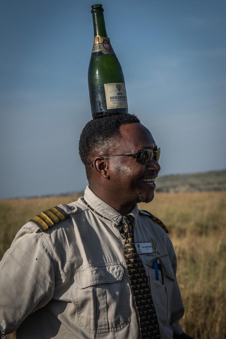 Tansania - Serengeti - Ballonführer