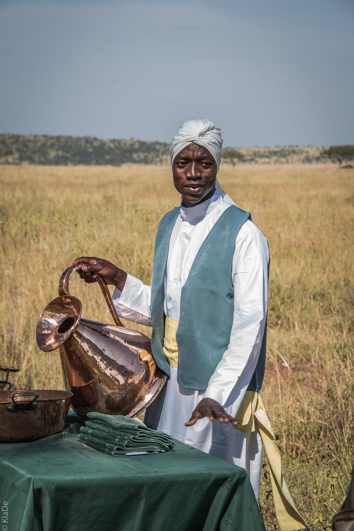 Tansania - Serengeti - Hygiene im Busch