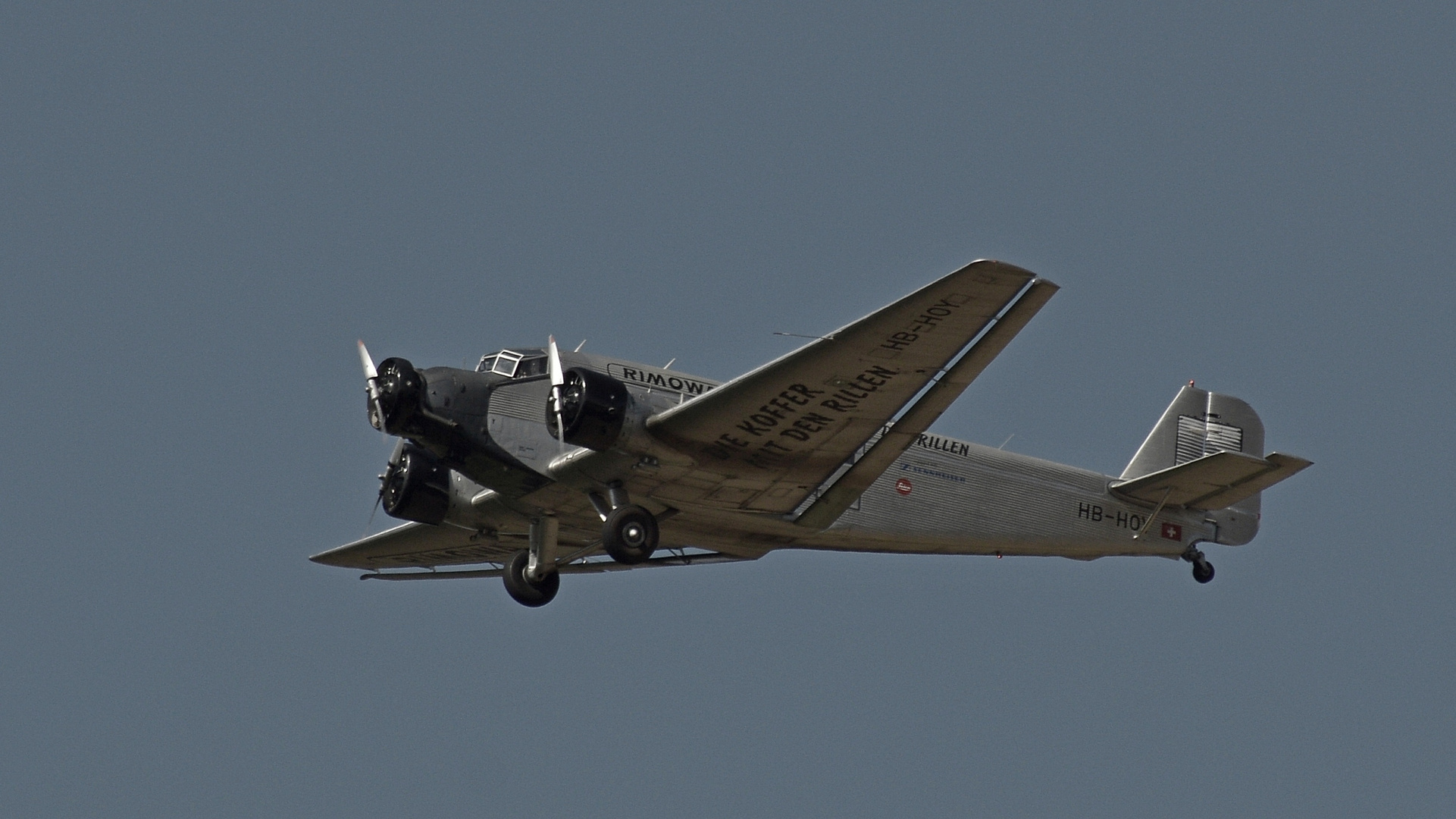 Flugzeug Tante Ju