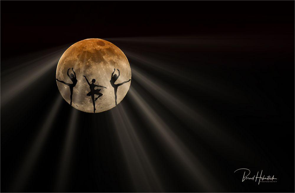 Tanz auf dem Mond ....
