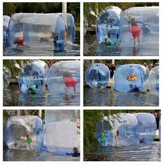 Tanz auf dem Wasser - eine kleine Anregung für den nächsten Sommer