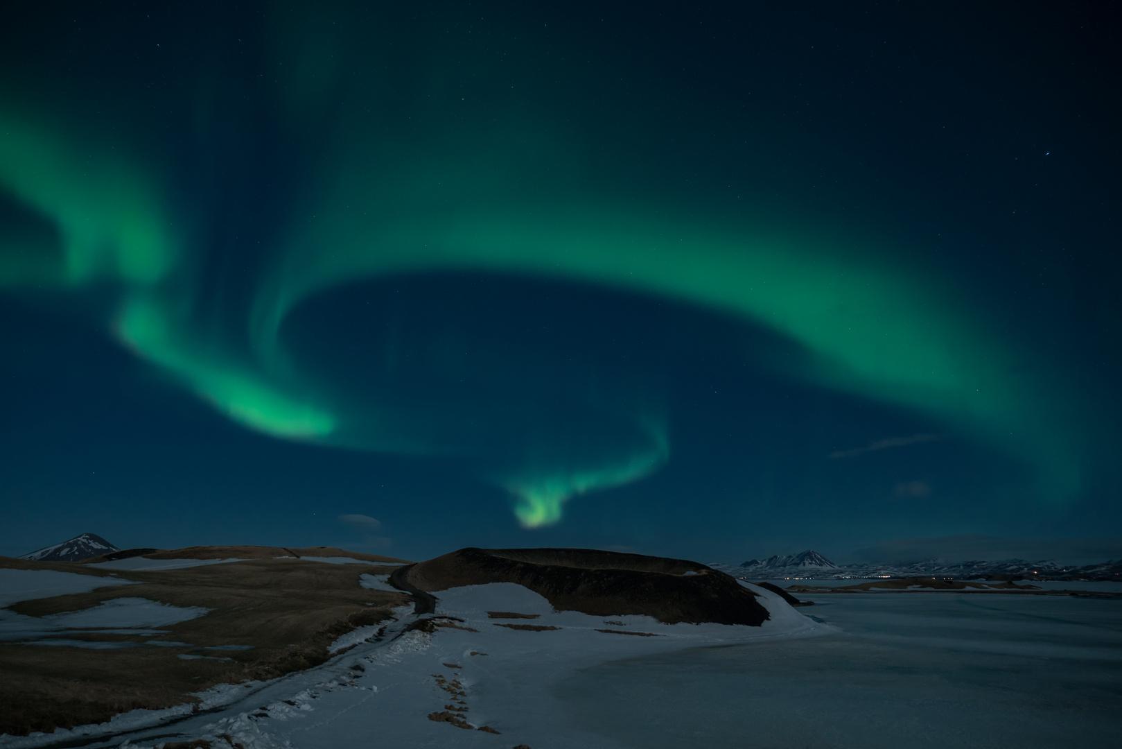Tanz der Polarlichter
