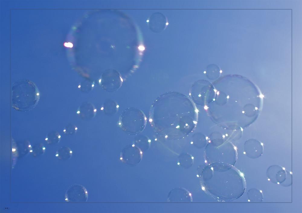 Tanz der Seifenblasen