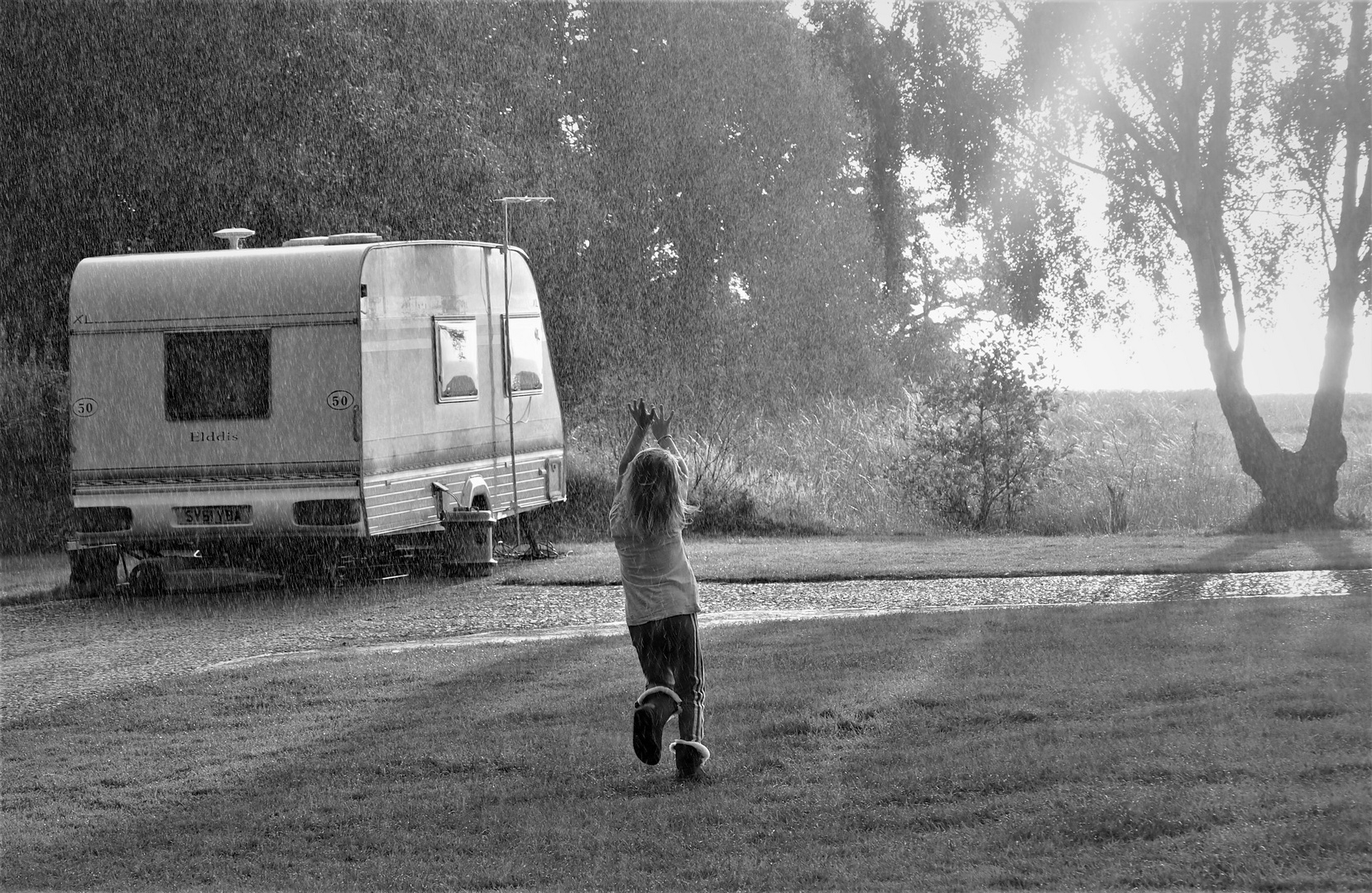 Tanz im Regen