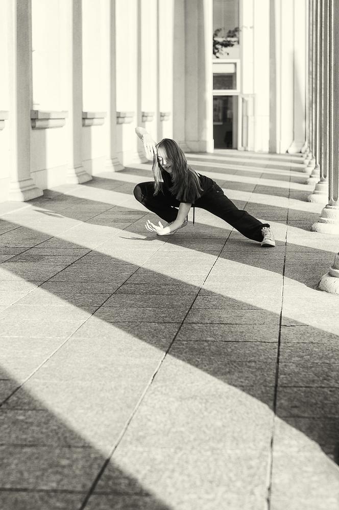 Tanz in Licht und Schatten