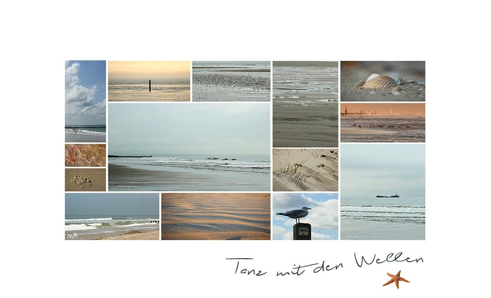 ... Tanz mit den Wellen ...