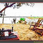 Tanzania 2001 - Am Lake Rufiji im Selous Game Reserve - The Photographers Rest