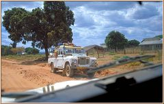 "Tanzania 2001 - Tunduru, Ruvuma Region - Land Rover ""One Ten"" On The Road"