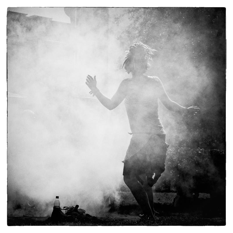 Tanzen im Nebel