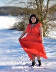 Tanzen im Schnee